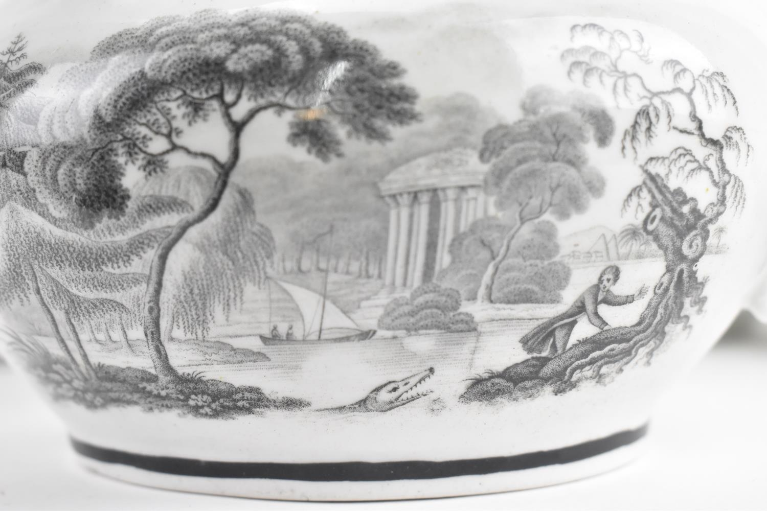 A George III period thirty eight piece New Hall tea and coffee service, circa 1805, pattern number - Image 7 of 11