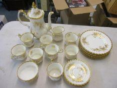 A Royal Albert Antoinette pattern tea service