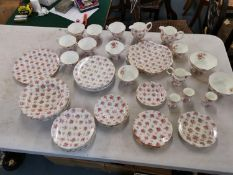 A Hammersley and Co porcelain part tea service Location: 10:3