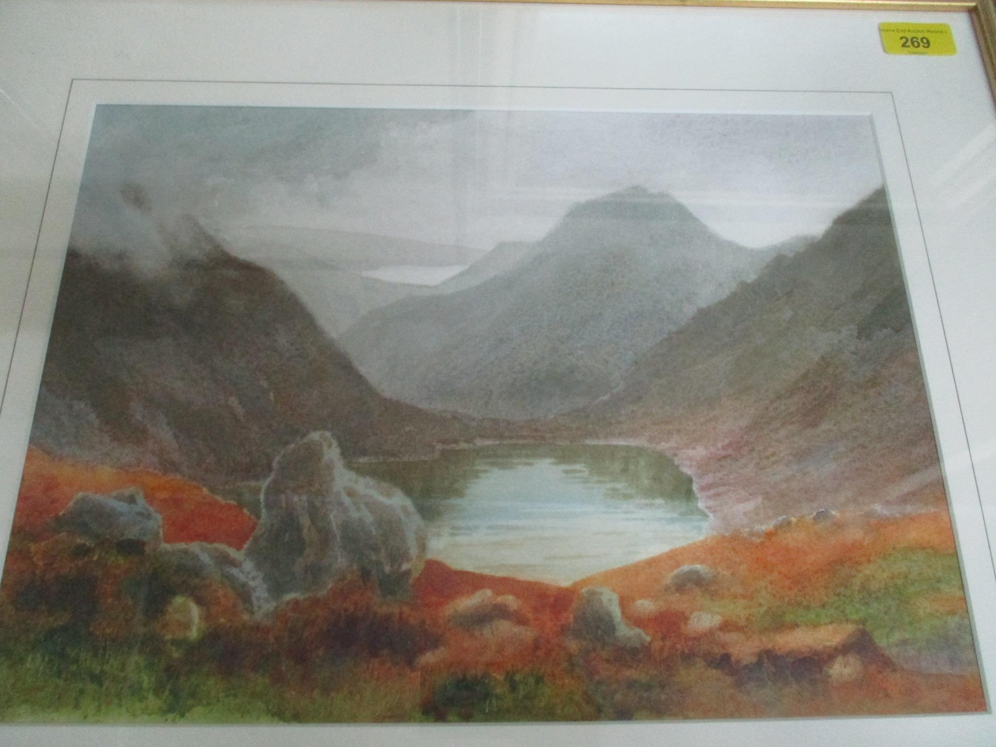 Group of watercolours and other pictures to include two watercolours by Jack Ray, a watercolour by - Image 3 of 7