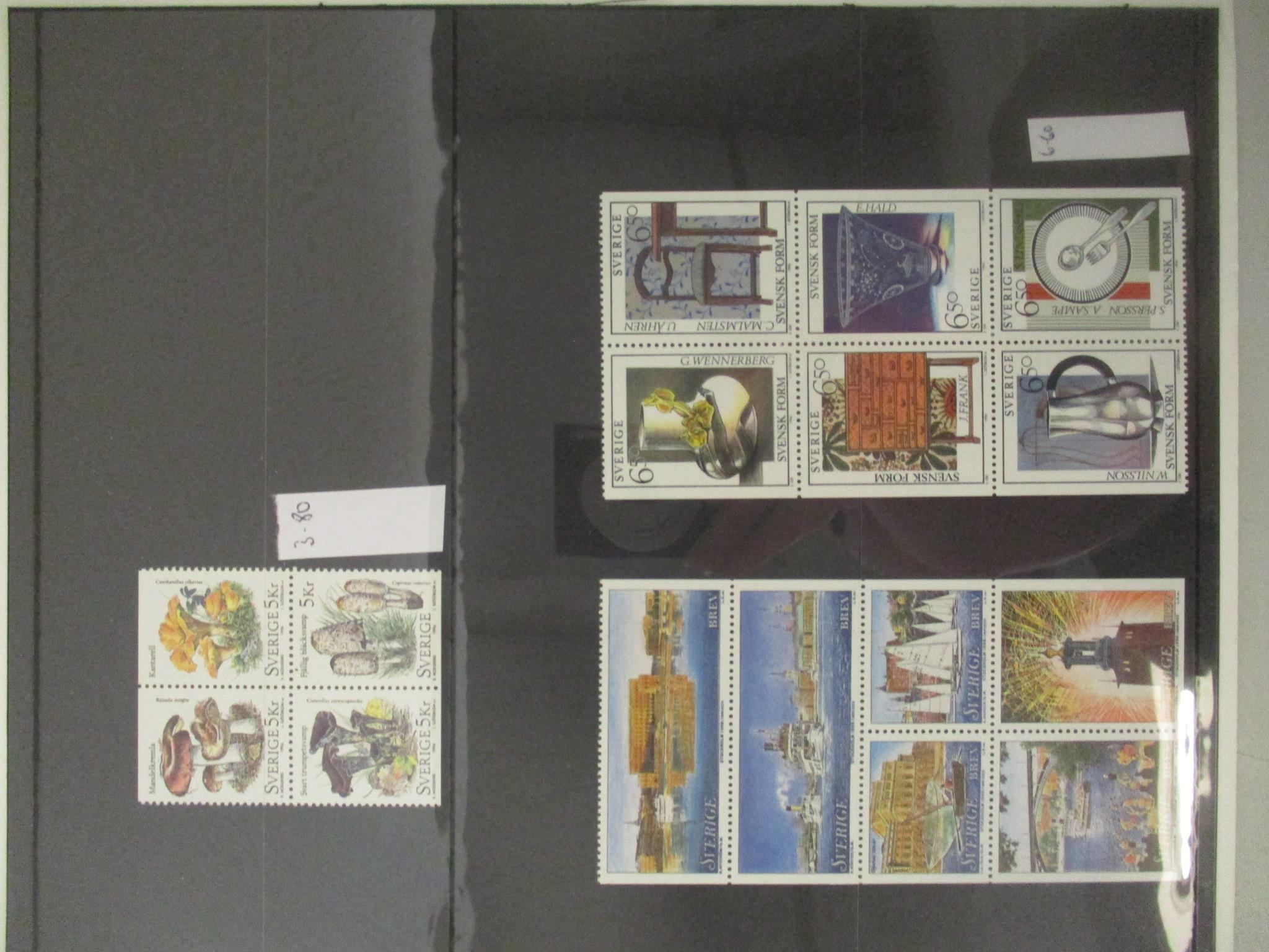 Mint stamps, mainly for attendees at UPU Beijing 1999. Country issues in Folders (10) produced by - Image 4 of 4