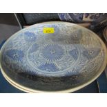 Two provincial Chinese blue and white plates, along with a selection of other Victorian and later