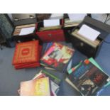 A large quantity of 78rpm records, to include Glenn Miller, Gilbert & Sullivan, classical