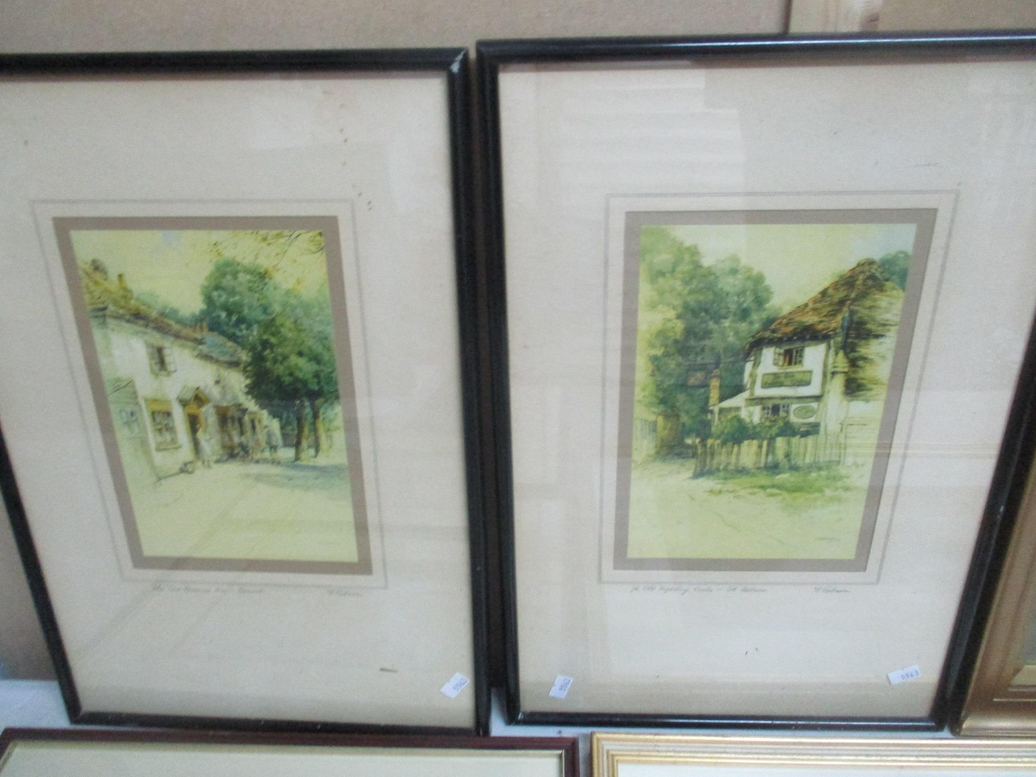 Group of watercolours and other pictures to include two watercolours by Jack Ray, a watercolour by - Image 6 of 7