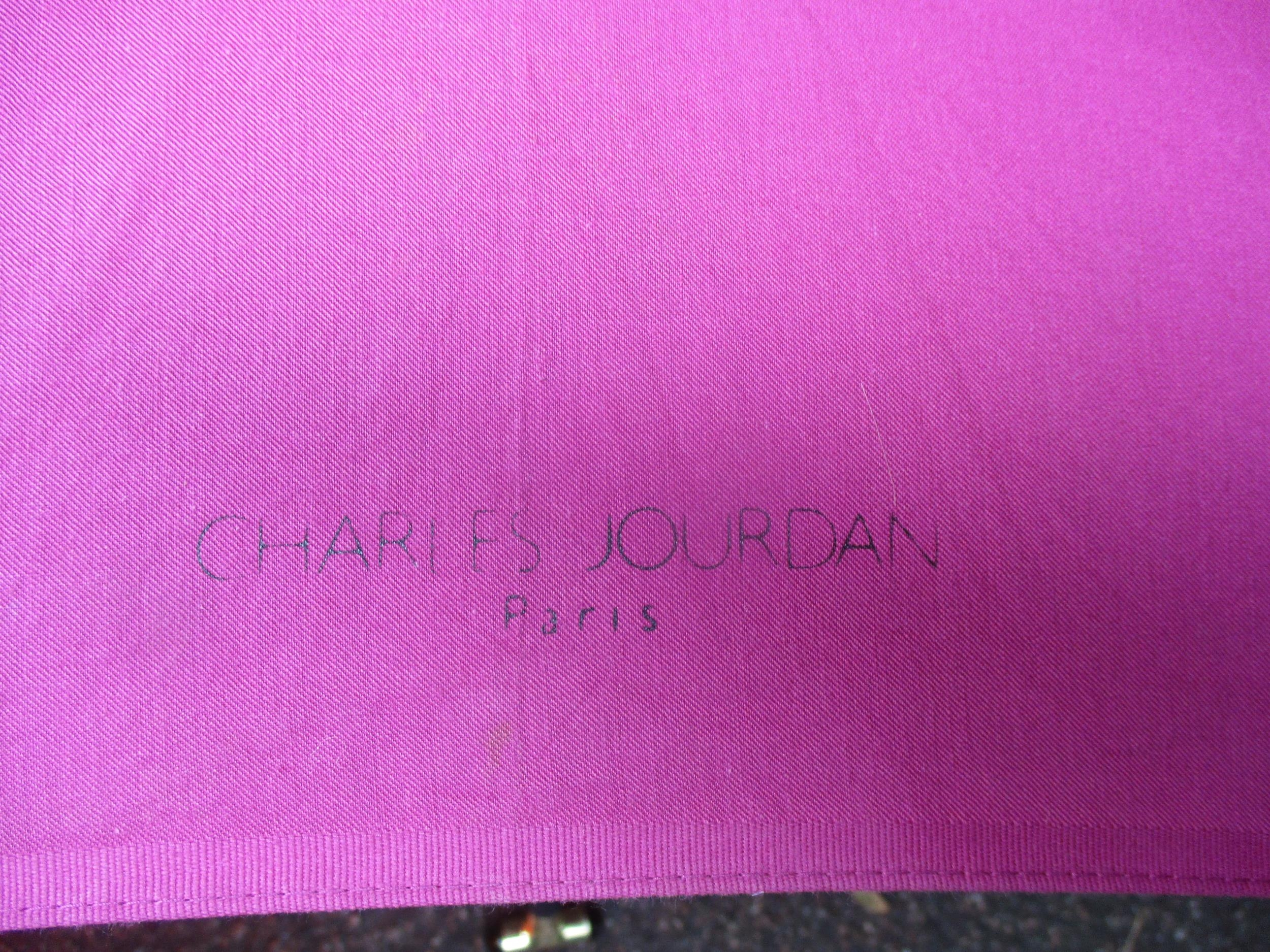 A Giorgio Armani branded umbrella and another by Charles Jourdan, together with a burnt orange - Image 3 of 5
