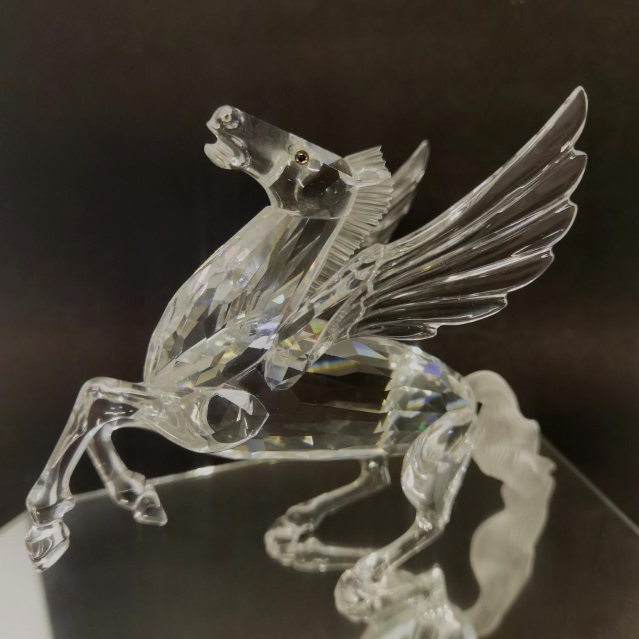 A Swarovski Crystal Annual Edition 1998 'Fabulous Creatures - The Pegasus' A/F with box and - Image 2 of 6