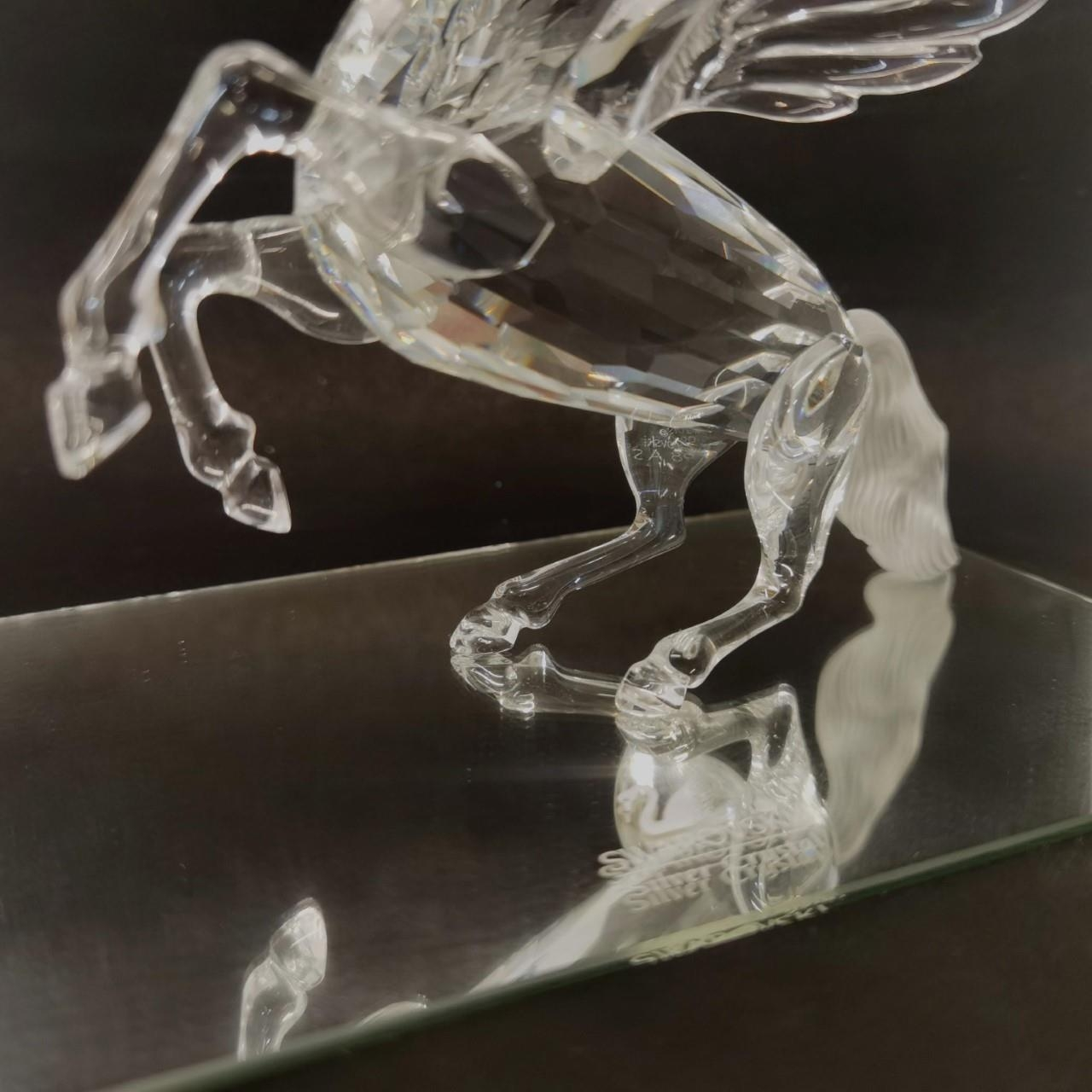 A Swarovski Crystal Annual Edition 1998 'Fabulous Creatures - The Pegasus' A/F with box and - Image 3 of 6