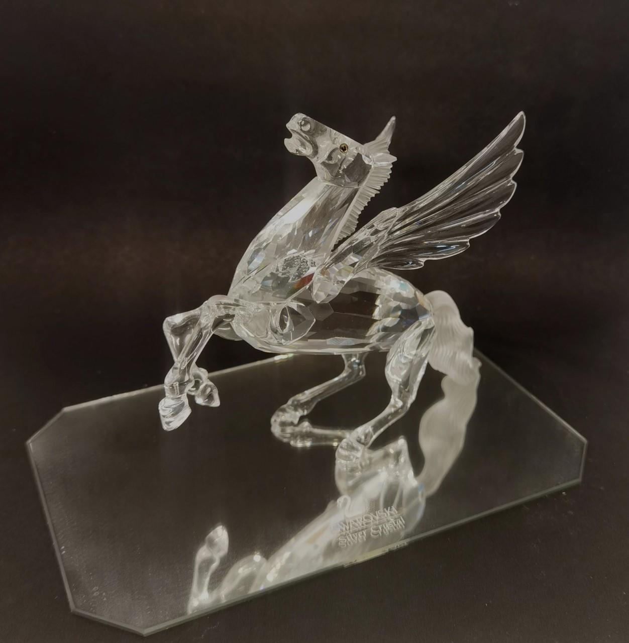 A Swarovski Crystal Annual Edition 1998 'Fabulous Creatures - The Pegasus' A/F with box and