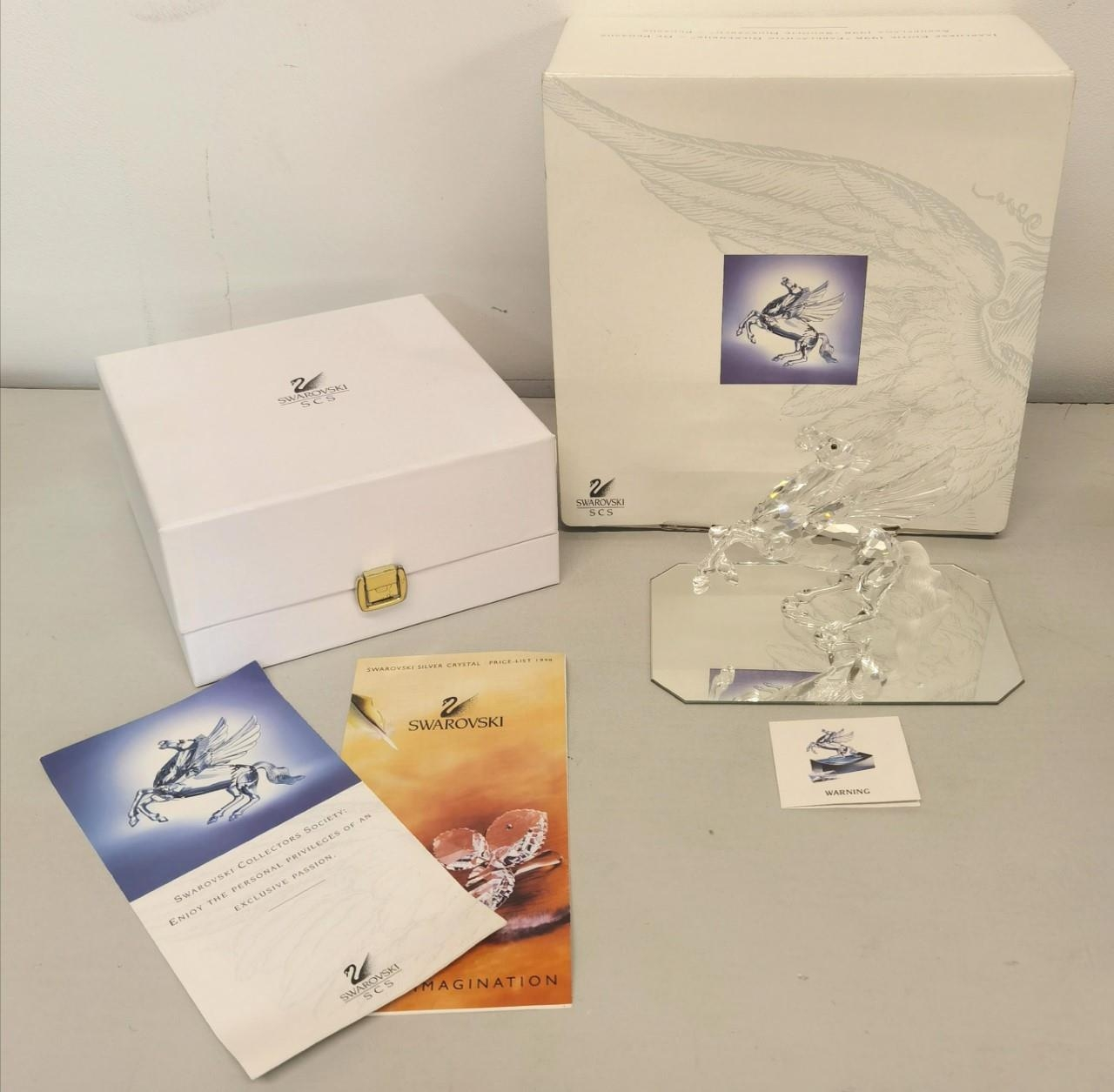 A Swarovski Crystal Annual Edition 1998 'Fabulous Creatures - The Pegasus' A/F with box and - Image 5 of 6