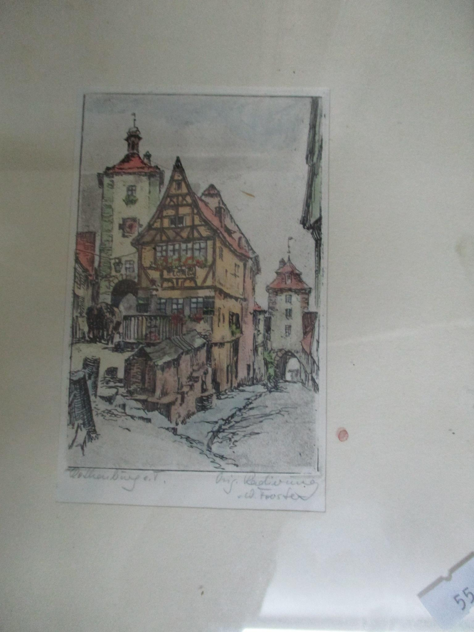 Group of watercolours and other pictures to include two watercolours by Jack Ray, a watercolour by - Image 7 of 7