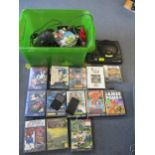 Gaming equipment A/F to include a Sega 16-bit Megadrive console, various games A/F, an ipod A/F