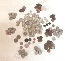 A large quantity of early to mid 20th century British Coinage to include half crowns, florins