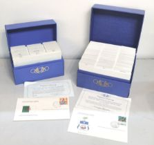 Olympic Fist Day covers, a boxed commemorative set of the International Olympic Committee Official