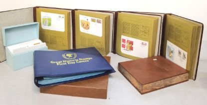 A collection of six First Day covers to include First Day covers of the world and the Scouts stamp