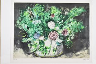 John Piper (1903-1992) Flowers IV, limited edition lithograph, signed and numbered 80/100 in pencil,