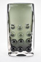 A Whitefriars mobile phone vase by Geoffrey Baxter, 16cm h