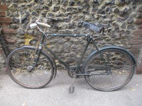 A 1940's gents Triumph bike