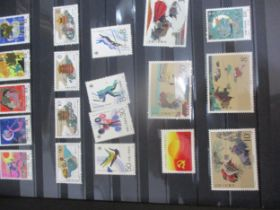 A large collection of worldwide stamps to include 1990's WWF conservation stamps with an