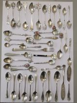 Silver to include thirty eight spoons, a pickle fork and two butter knives, 452g, Location: CAB