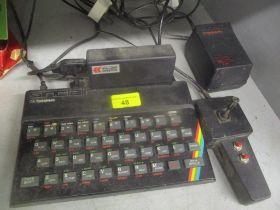 A Sinclair ZX Spectrum