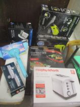 Cleaning and electrical items to include a steam cleaner, cordless vacuum and other items