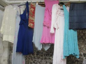 A quantity of High Street ladies clothes to include Ghost, Boden and All Saints, various sizes