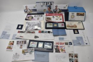 A collection of First Day Covers to include Day of the Concorde, Apollo-Soyuz, USA Bicentennial