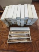 A quantity of forty nine rolled gold propelling pencils by Monarch in original boxes. Location 6:4