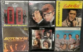 Six albums to include The Beatles 'Let It Be', 'In Touch with Peter and Gordon', 'Peter and Gordon',