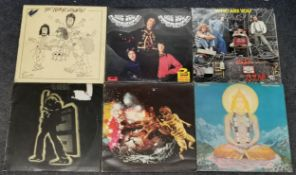 Six albums to include Jimi Hendrix Double Album, T-Rex, Quintessence, The Who and Santana