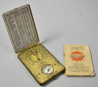 An American Ansonia Sunwatch with Original Booklet