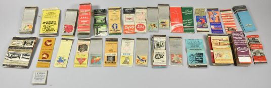 A Collection of Various Vintage Matchbooks
