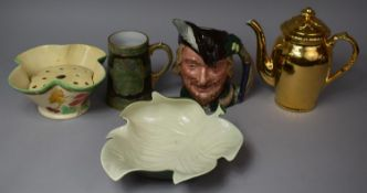 A Collection of Various 20th Century Ceramics to Comprise Royal Doulton Robin Hood Character Jug (