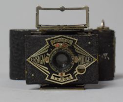 A 1930's Ensign Midget Camera, In need of Some Restoration, 9cm wide