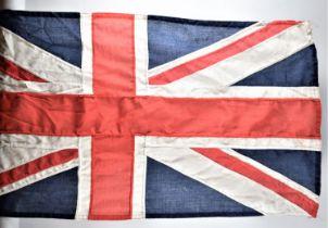 A Vintage Cloth Union Jack, 108x52cm