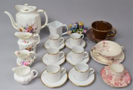 A Collection of Various Ceramics to comprise Royal Crown Derby Derby Posies Pattern Coffee Pot and