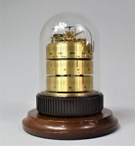A German Three Drum Weather Station by Barigo with Scales for Barometer, Thermometer and Hygrometer,