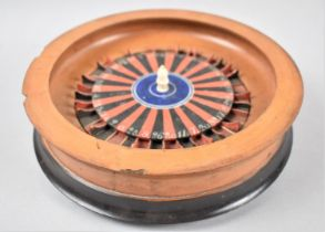 A Late 19th/Early 20th Century Roulette Wheel, Some Number Dividers Missing and Mechanism In Need of