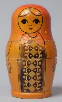 A Vintage Russian Doll, 14cm High