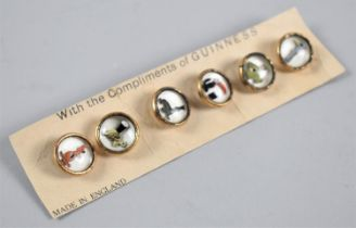 A Set of Vintage Guinness Studs in original Cardboard Container