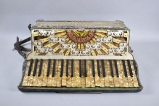 A Continental Piano Accordion, The Coronado, In Need of Some Attention, 53cm wide