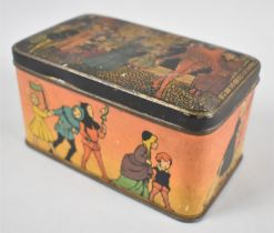 A Vintage Decorated Tin for Grips First Aid Pastilles, 14cm Wide