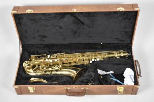 A Late 20th Century Cased Brass Saxophone, The Artemis