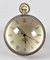 A Reproduction Novelty Desktop Globe Clock, Working Order, 7cm high