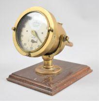 A Vintage Brass Ships Log, The Trident Taffrail Log, 13.5cm Diameter