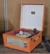 A Vintage Dansette Bermuda Record Player