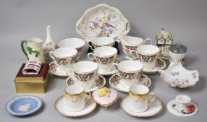A Collection of Various Ceramics to comprise Part Set of Colclough Royale Teawares, Wedgwood Vase,