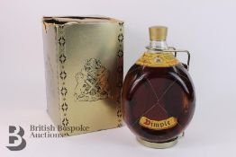 Dimple Old Blended Scotch Whisky Half Gallon with Carrier and Box