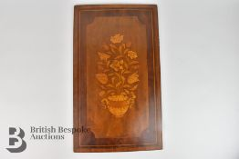 English Marquetry Panel