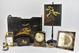 Chinoiserie Homeware, Clocks and Stationary Items